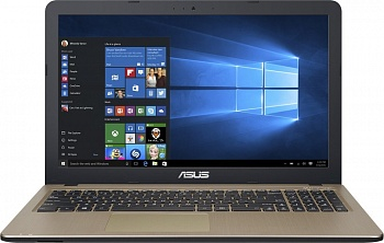 "Ноутбук Asus X540SA (Intel Pentium N3700 1600 MHz/15.6""/1366x768/2.0Gb/500Gb/DVD нет/Intel GMA HD/Wi-Fi/Bluetooth/Win 10 Home) 90NB0B31-M00800 - фото"