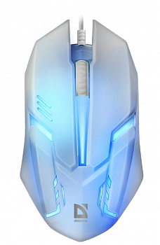 Мышь Defender Cyber MB-560L White USB