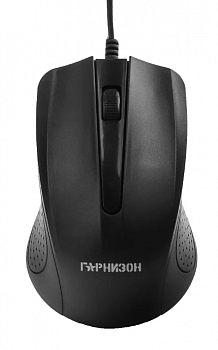 Мышь Гарнизон GM-105 Black USB