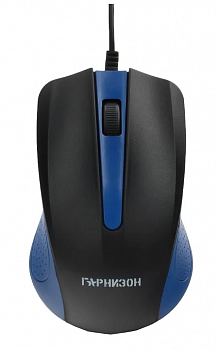 Мышь Гарнизон GM-105B Black-Blue USB