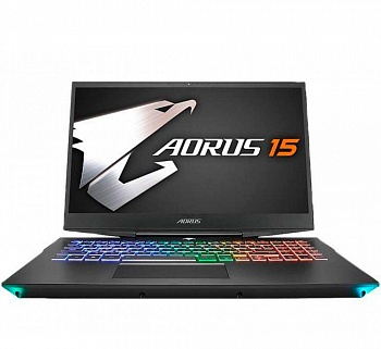 "Ноутбук Gigabyte Aorus 15-WA-F74ADW (Core i7 9750H 2600 MHz/15.6""/1920x1080/16Gb/512Gb SSD/DVD нет/NVIDIA GeForce RTX 2060 6GB/Wi-Fi/BT/Windows 10 Home) - фото"
